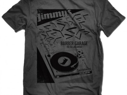Jimmy's Barber Garage Tee