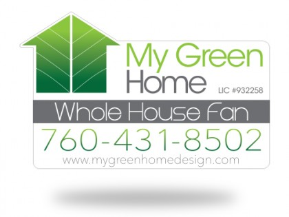 My Green Home Magnet