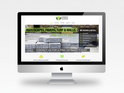Apostle Pavers & Landscape Web Design