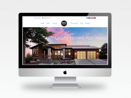 Web Design | Michael Willis Real Estate Appraiser