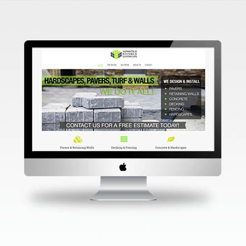 Web Design Auburn Ca - Apostle Pavers