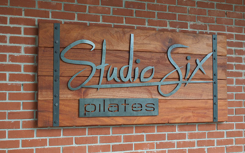 Hand Made Wood & Metal Sign