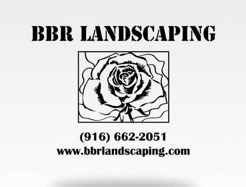 BBR Landscaping Logo Design