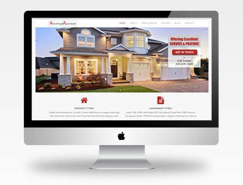Web Design Auburn Ca - Advantage Appraisals