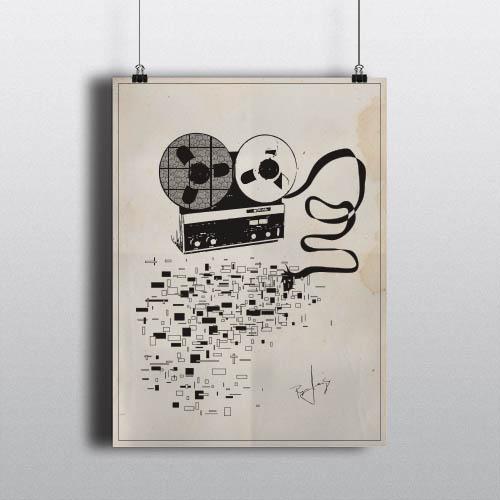 Analog Tape Poster