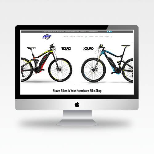 Web Design Auburn Ca - Atown Bikes