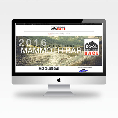 Web Design Auburn Ca - Cool Mountain Bike Race