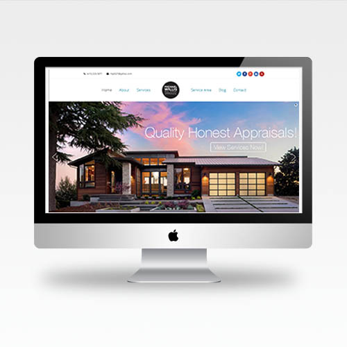 Web Design Bay Area - Michael Willis Real Estate Appraiser