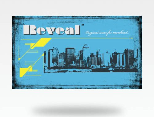 Reveal Co. Business Card Design