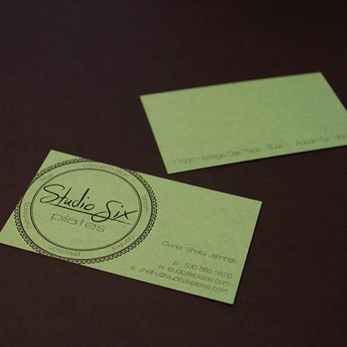 Graphic Design Auburn Ca - Studio Six Pilates